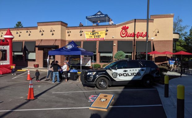 Cops on Top at Chick-Fil-A Benefitting Special Olympics
